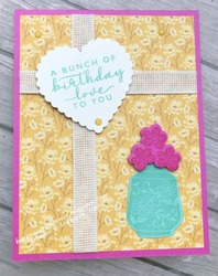 Boho indigo birthday