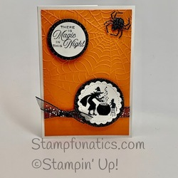 Little treats halloween card
