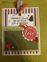 Christmas pocket fo
