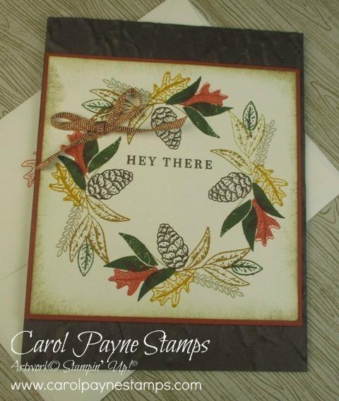 Stampin up beautiful autumn carolpaynestamps1