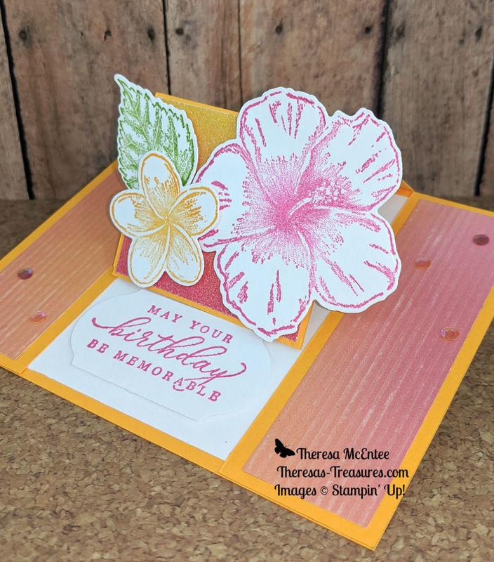 Floral fun fold tilt l close up wm