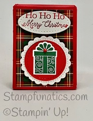 Christmas matchbox with little treats bundle
