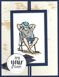 It s your day masculine birthday card