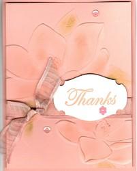 Magnolia 3d e f thank you card