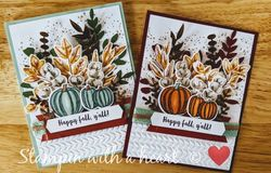 Forever fern and gather together fall card