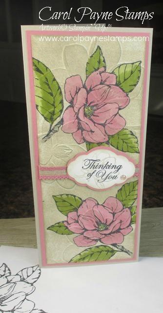 Stampin up good moring magnolia slim carolpaynestamps1