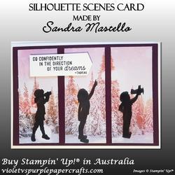 Silhouette scenes card 01