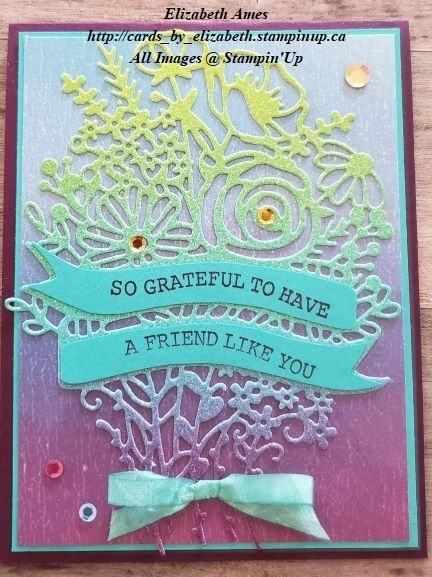 Artistry in blooms card share wm