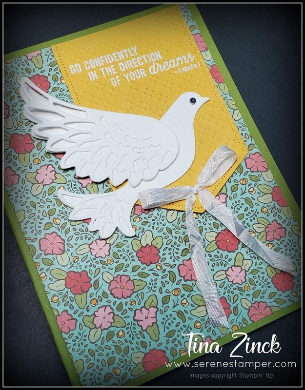 Dove of hope ornate garden stampin up tina zinck