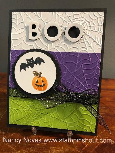 Banner year halloween boo