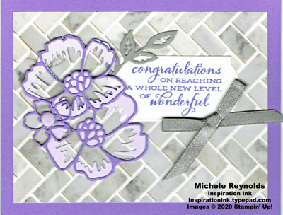 Celebrate sunflowers purple posy congrats watermark