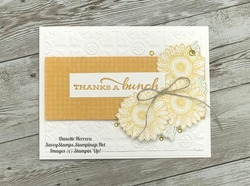 Thanks  celebrate sunflowers featuring the new in color bumblebee