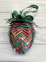 Finished pine cone