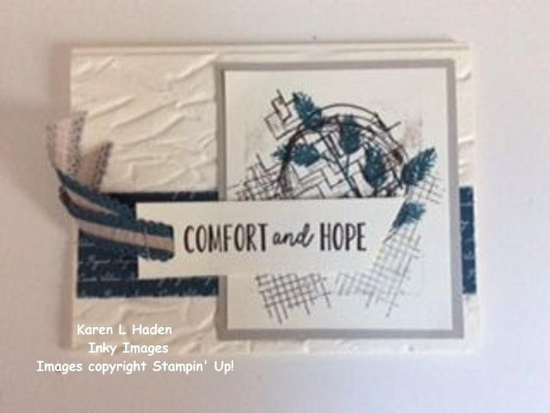 Comfort   hope card