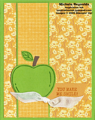 Harvest hellos autumn apple smile watermark