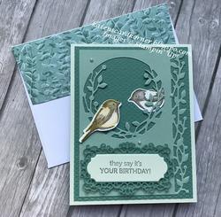 Birds   branches birthday