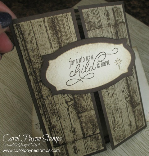 Stampin up peaceful nativity gatefold carolpaynestamps2