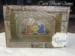 Stampin up diorama nativity carolpaynestamps1