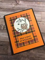 Have a hoot plaid