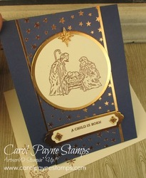 Stampin up peaceful nativity circle carolpaynestamps2