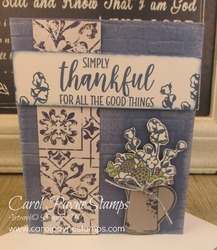 Stampin up country home carolpaynestamps1