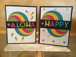 Aloha happy playful alphabet