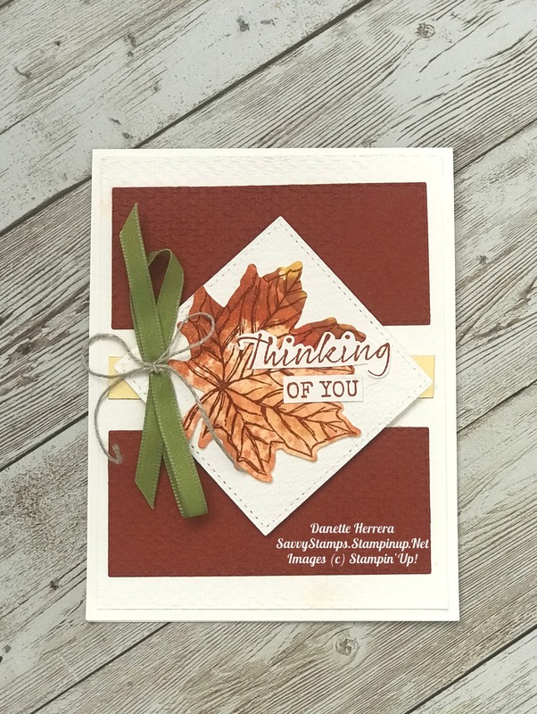 Thinking of you with the gather together stamp set