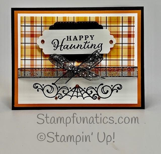 Celebration tidings happy haunting card