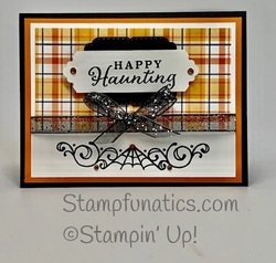 Celebration tidings happy haunting card