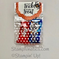 Celebration tidings treat bag