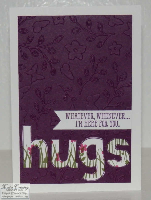 Lined alphabet hugs
