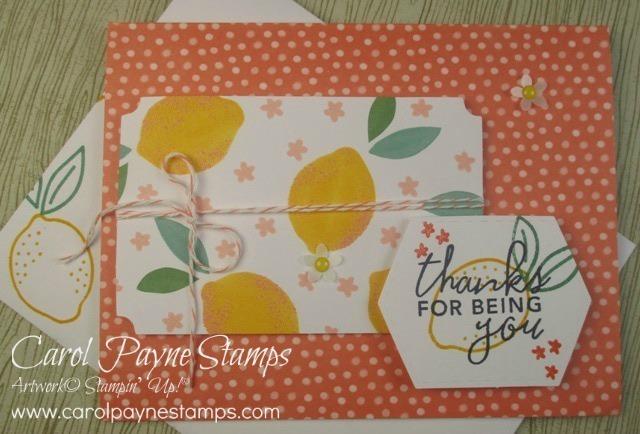 Stampin up simply citrus carolpaynestamps22
