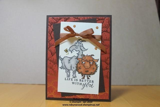 Way to goat beautiful autumn anniversary gem