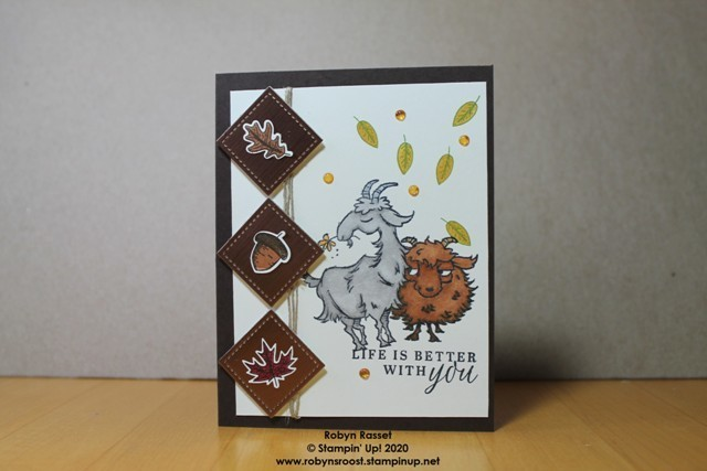 Way to goat beautiful autumn fall squares h table