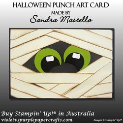 Halloween punch art card 01