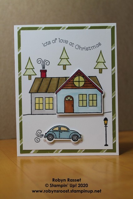 Trimming the town world cardmaking casual tall