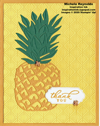 Timeless tropical big pineapple thanks watermark