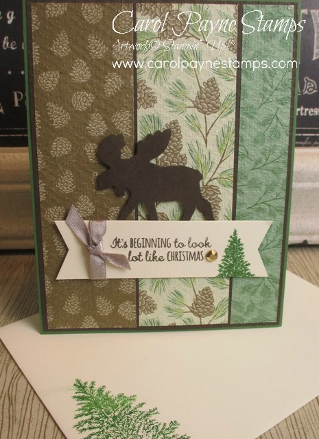 Stampin up merry moose carolpaynestamps1