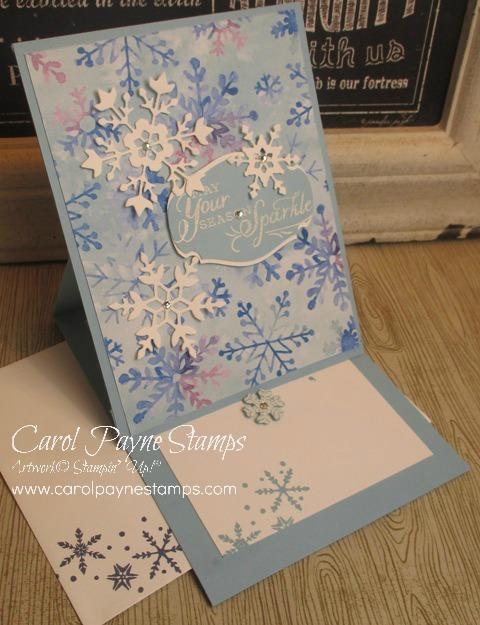 Stampin up snowflake wishes carolpaynestamps1