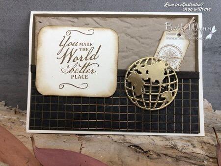 Beautiful world card