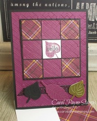 Stampin up love of leaves carolpaynestamps1