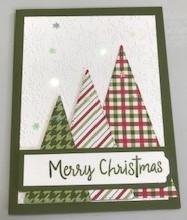 Triangle christmas card