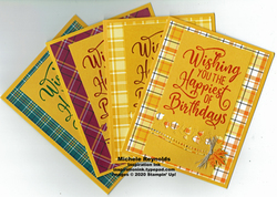 Happiest of birthdays plaid leaf birthday set 1 watermark