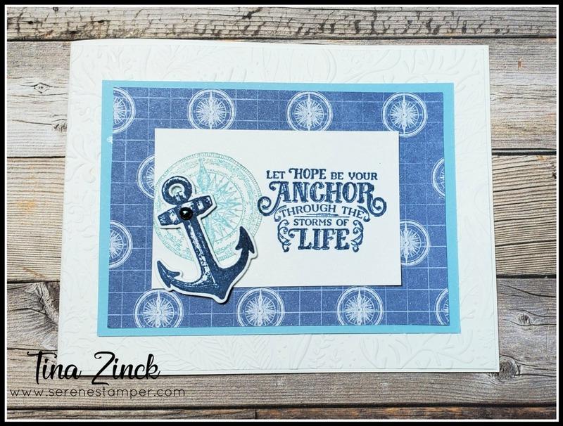 Sailing home stampin up tina zinck