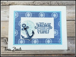 Sailing home stampin up tina zinck