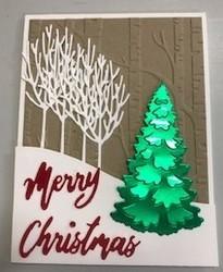 Velvet merry christmas