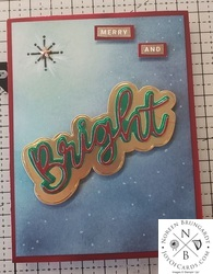 Merry and bright christmas card  1