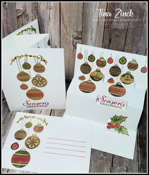 Ornamental envelopes stampin up tina zinck