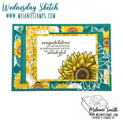 Wednesday sketch 3 stampin up melaniestamps 5 copy