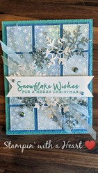 Stitched shapes and snowflake wishes